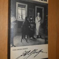 JOHANN WOLFGANG GOETHE - HANS JURGEN GEERDTS - CARTE IN LIMBA GERMANA - Carte in germana
