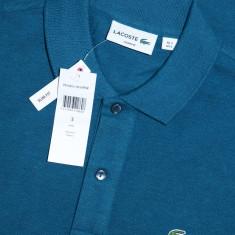 Tricou Lacoste Polo model nou Slim Fit S - Tricou barbati, Marime: S, Culoare: Din imagine, Maneca scurta