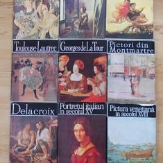 COLECTIA- CLASICII PICTURII UNIVERSALE- 9 ALBUME DE ARTA CU SUPRACOPERTA - Album Pictura