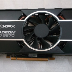XFX HD 6870 1gb ddr5 / 256 bits Gaming DX11Hdmi Black Edition - Placa video PC XFX, PCI Express, Ati
