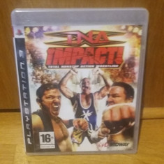 PS3 TNA impact Total nonstop action wrestling - joc original by WADDER, Sporturi, 16+, Multiplayer