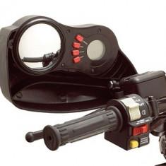 APARATORI ELECTRICE MAINI CU OGLINDA - Handguard - protectii ghidon Moto