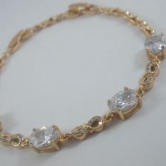 Bratara Luxury Princess placat aur 18k Cod produs: 1610BC003 - Bratara placate cu aur, Femei