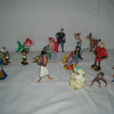 Disney - 15 figurine - Bullyland - Aladdin, Ariel, Toy Story, Pinocchio
