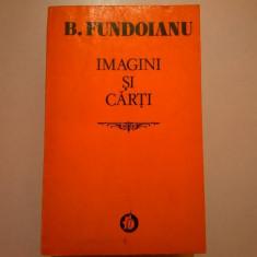 B. Fundoianu – Imagini si carti - Eseu