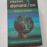 STEPHEN DONALDSON - RAZBOIUL URIASILOR - Carte SF