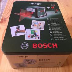 Nivela laser Bosch Quigo cu linii in cruce - Nivela optica