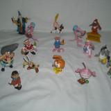 Disney - 15 figurine - Bullyland - Pantera roz, Asterix si Obelix, Snorks - Figurina Desene animate