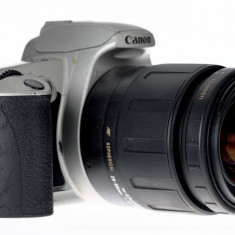 28-80mm Tamron Aspherical plus Canon 500N - Aparate Foto cu Film
