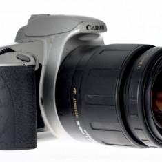 28-80mm Tamron Aspherical plus Canon 500N - Aparat Foto cu Film Canon, SLR, Mic