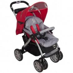 Carucior pentru nou-nascuti Torre - Coto Baby - Rosu - Carucior copii Landou