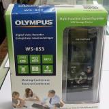 La cutie cu husa - Reportofon profesional stereo Olympus WS-853 black