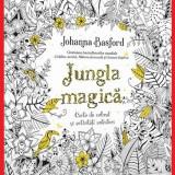 Jungla Magica Johanna Basford Carte de colorat pentru adulti Sigilata