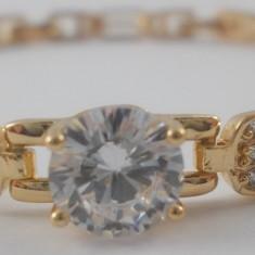 Bratara Luxury Crystal placat aur 18k Cod produs: 1610BC001 - Bratara placate cu aur, Femei