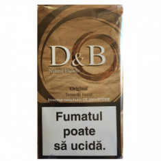 Tutun DB ORIGINAL 30 g pentru foite rulat sau tuburi injectat - Tutun Pentru tigari de foi