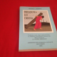 THOMAS A KEMPSIS, IMITAȚIUNEA LUI CHRISTOS - Carti Crestinism
