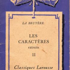 LES PLAIDEURS / LES CARACTERES / PENSEES ET OPUSCULES - Carte in franceza