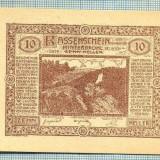 A2103 BANCNOTA NOTGELD- AUSTRIA 10 HELLER -1920-SERIA FARA-starea care se vede - bancnota europa