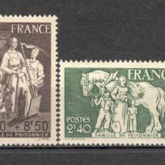 Franta.1943 Ptr. familiile de prizonieri SF.144, Nestampilat