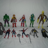 Super eroi - Batman, Spiderman, Hulk - 13 figurine