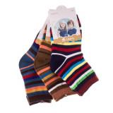 Set 3 perechi sosete copii E5001-1 multicolore