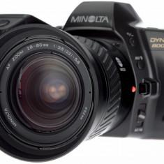 Minolta 28-80mm si Dynax 8000i - Aparat Foto cu Film Konica Minolta