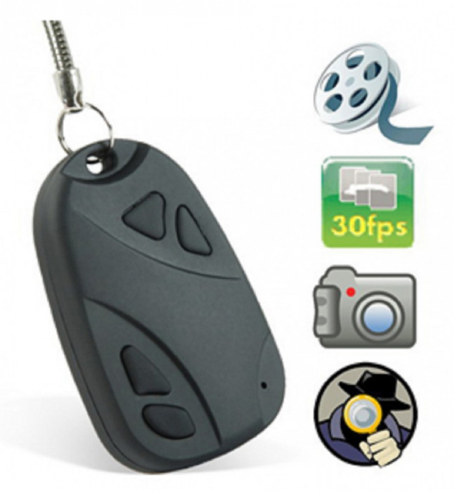 CAMERA SPION BRELOC 720X480 VIDEO 30 FPS