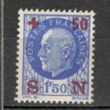 Franta.1942 Sprijin national-supr. SF.131, Nestampilat