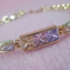 Bratara Luxury Multicolor Cod produs: 1610BC007 - Bratara placate cu aur, Femei