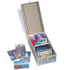 Aluminium koffer pentru postcards - Numis