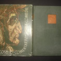 G. COSBUC - COMENTARIU LA DIVINA COMEDIE 2 volume - Studiu literar