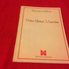 Sf. Grigore de Nyssa, Viața Sfintei Macrina - Vietile sfintilor