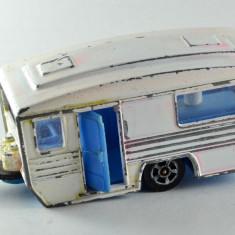 Macheta / jucarie masinuta metal - Corgi Juniors -Caravan-Rulota Gr.Britain #364 - Macheta auto Alta, 1:64