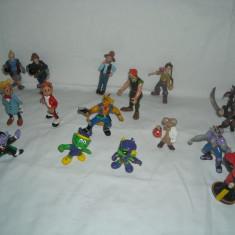 Disney - 15 figurine - Bullyland - ET, Piratii Caraibe, Mice - Mars, Astroniks - Figurina Desene animate, Unisex