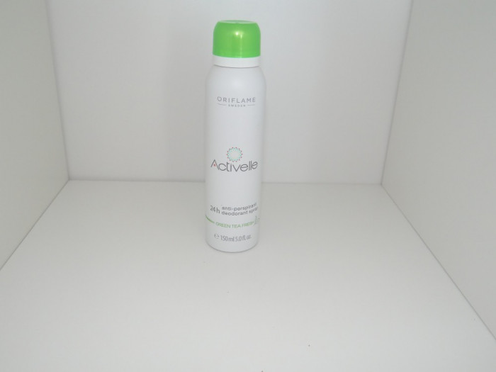 Deodorant spray antiperspirant 24h Activelle Green Tea Fresh -  150 ml