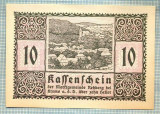 A2018 BANCNOTA NOTGELD- AUSTRIA-10 HELLER -1920-SERIA FARA-starea care se vede