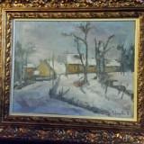 Dumitru Ghiata-Peisaj de iarna