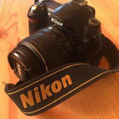 DSLR Nikon D50+obiectiv 18-55 VR, Kit (cu obiectiv), Sub 8 Mpx, HD