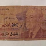 CY - 10 dirhams 1987 Maroc - bancnota africa