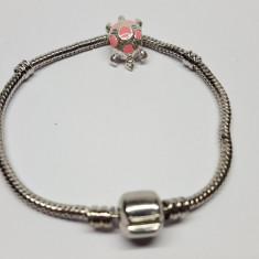 Bratara tip Pandora cu un talisman model 8 - Bratara Fashion