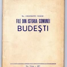 File din istoria comunei Budesti