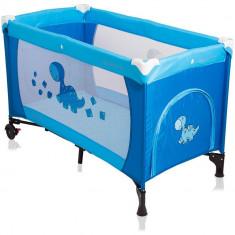 Patut pliabil Samba 2016 - Coto Baby - Albastru - Tarc de joaca