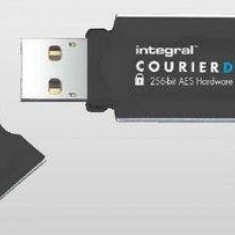 Flashdrive Integral Courier Dual 16GB USB3.0 FIPS 197 AES 256-bit enryption - Stick USB