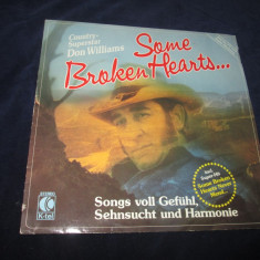 Don williams - some broken hearts..._vinyl, LP, germania - Muzica Country Altele, VINIL
