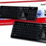 genius Tastatură Genius SlimStar i250 Ultra Slim, negruUSB