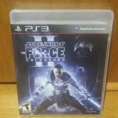 PS3 Star Wars the force unleashed 2 - joc original by WADDER - Jocuri PS3 Altele, Actiune, 12+, Single player