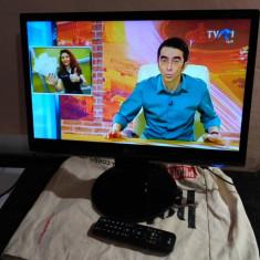 TV LED 22 INCH LG + TELECOMANDA LG ORIGINALA - Televizor LED LG, 58 cm, Full HD, HDMI: 1, USB: 1, Intrare RF: 1