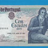 Portugalia 100 escudos 1985 UNC - bancnota europa