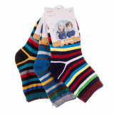 Set 3 perechi sosete copii E5001-3 multicolore