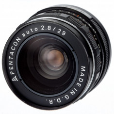 Pentacon 29mm F2.8 sn 6984058 - Obiectiv DSLR, Wide (grandangular), Manual focus, Nikon FX/DX